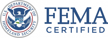 FEMA Certified (with seal)